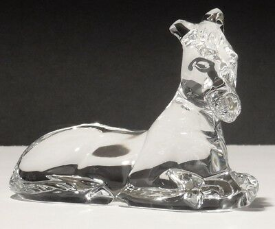 Waterford Crystal Nativity Collection Donkey Figurine ~ Ireland