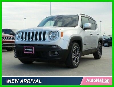 2016 Jeep Renegade Limited 2016 Limited Used Certified 2.4L I4 16V Automatic Front Wheel Drive SUV
