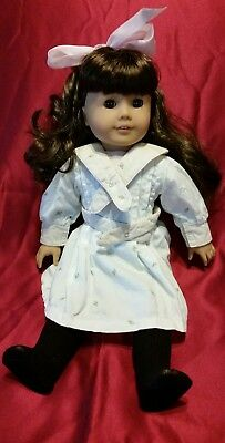 American Girl Pleasant Company Samantha Parkington in Spring Dress