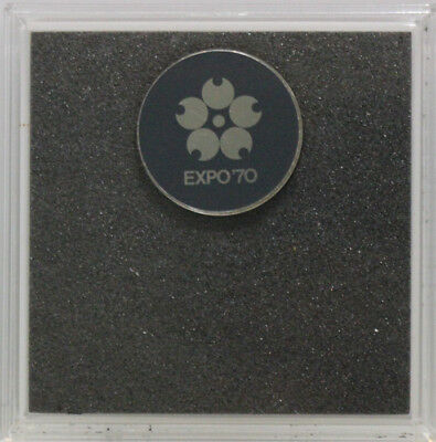 Japan 1970 Expo Silver Medal UNC