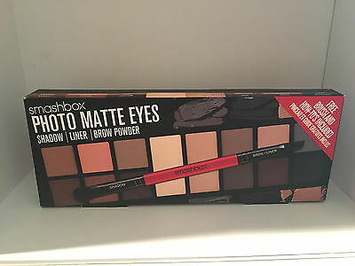 New Smashbox Photo Matte Eyes Shadow Liner Brow Powder Palette