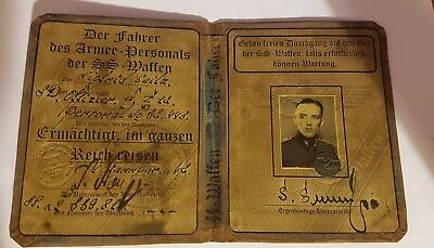German des armee personals document