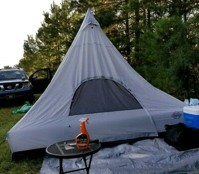 GUIDE GEAR WIGWAM TEPEE TENT 4-6 Person