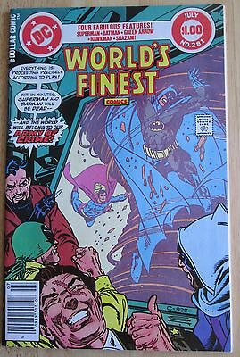 Dc comics presents,Worlds finest #281, Great Condition