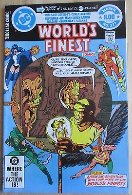Dc comics presents,Worlds finest #277, Great Condition