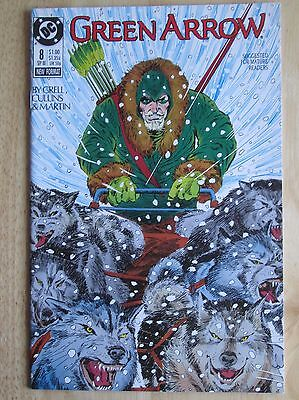 "DC Comics, ""Green Arrow"" 1988  # 8 , Great Condition"
