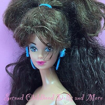 Barbie 1988 STYLE MAGIC WHITNEY Nude Steffie Face Brunette TNT Doll A70