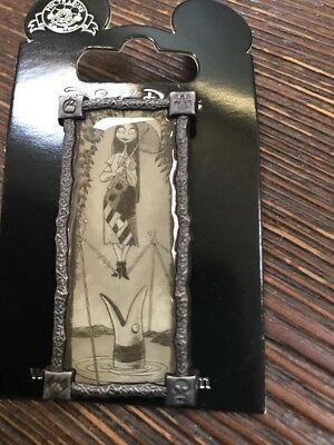 Disney Parks Nightmare Before Christmas Stretching Portrait Sally Tightrope Pin