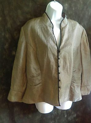 Chinese jacket coat  blazer-Size 18w , size 18 Asian jacket   J.r.Nite