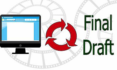 Convert Your Microsoft Word Screenplay Document into Final Draft