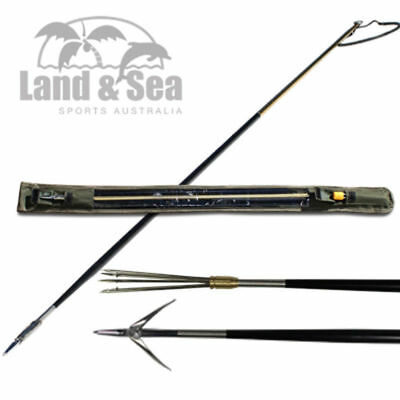 Land & Sea Javelin Hand Spear With Bag - Available In 2 Piece Or 3 Piece Sqsp