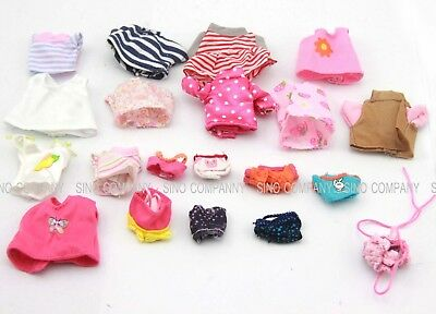 Random 5pcs Dresses Clothes For Sylvanian Families Calico Critter Doll Figure