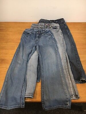 Lot Of 3 URBAN PIPELINE Boys Jeans Relaxed Bootcut Adjustable Waist Size 10