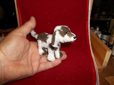 Another Small Brown & White Vintage Viscose Dog- by Hank
