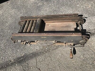 Antique F. Wesel Electic Proof Press