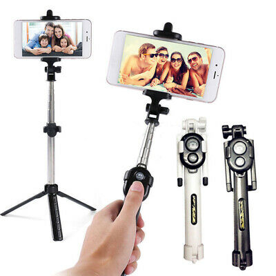 Extendable Selfie Stick Tripod Remote Bluetooth Shutter Fit For iPhone 7 Plus