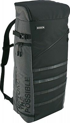 NEW GOSEN Tennis Racket Backpack Bag BA17TRB Black Gray Yellow Fast Shipping
