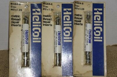LOT of 3  -  HELICOIL # R1084-8 - SIZE M8 X 1.25