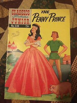 CLASSICS ILLUSTRATED JUNIOR #528 The Penny Prince ( HRN 568) FAIR