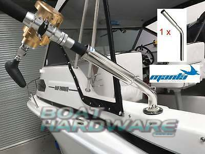 Rod Holder Extension 316 Stainless Steel Outrigger Boat Game Fishing Heavy Duty