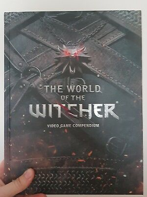 world of The Witcher art book