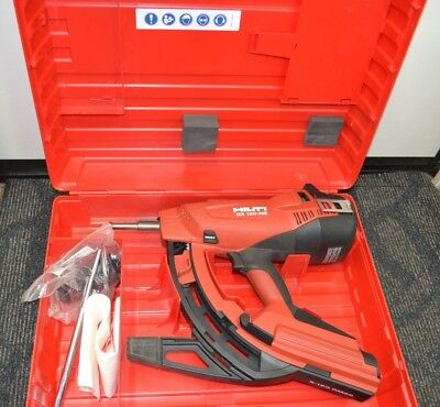 In Case Hilti GX 120 Nail Gas-Actuated Fastening Tool Great Condition Bids Fr $1