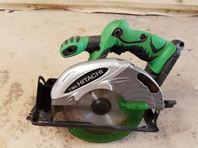 hitachi c18dl 18v battery circular saw, skin only.