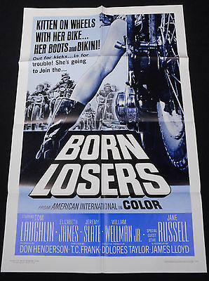 Born Losers 1967 * Tom Laughlin * Motorcycles Biker Exploitation * Mint Unused!!