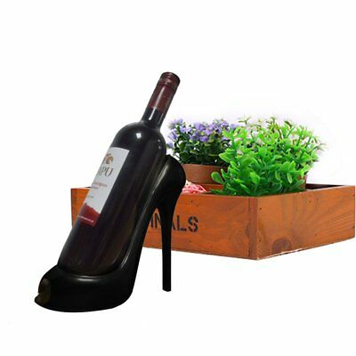 High Heel Shoe Wine Bottle Holder Stylish Wine Rack Gift Basket Accessories