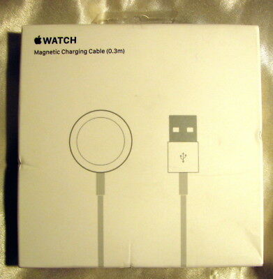 NEW Apple Watch Magnetic Charging Cable 0.3m (1 foot) A1570 - MLLA2AM/A