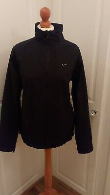 Womens Nike Golf Storm-Fit Lite Full Zip Waterproof Jacket Top 12-14 rrp £150
