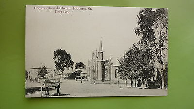 EARLY 1900s SOUTH AUSTRALIAN POSTCARD, PORT PIRIE CONGREGATIONAL CHURCH