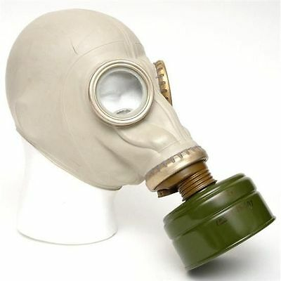 GENUINE Russian gas mask filter and bag NEW/UNISSUED - (GP-5) ADULTS
