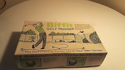 Biffit Golf Trainer Retro Vintage Golf Collectable Rare