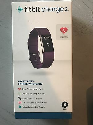 FITBIT Charge 2 Small  Activity Tracker Lila Plum