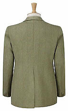 Caldene Competition Jacket Kent Derby Tweed Mens Green x Size 44""