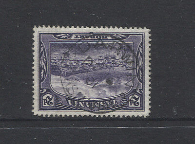 TASMANIA  1901: light but clear strike of the DARWIN Type 1 cds - rated RR(11*)