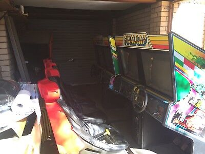 "RARE! 2x 1987 ATARI ""Final Lap"" Racing Arcade Machines"