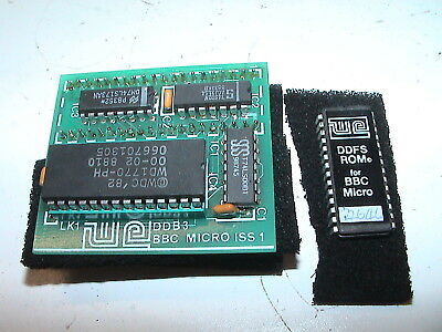 Watford Electronics DDFS Rom & DDB3 Board Rom Extension BBC Model B Chip