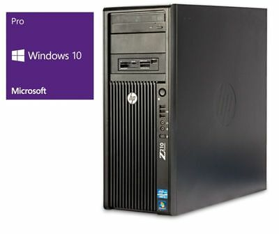 HP Z210 - Intel Core i5-2500 @ 3,3 GHz - 8GB RAM - 500GB HDD - DVD-RAM - Win10Pr