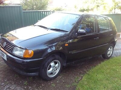 VOLKSWAGON VW POLO L DIESEL 5-door Hatchback 1896CC 1.9 Black  1997 9mths MOT