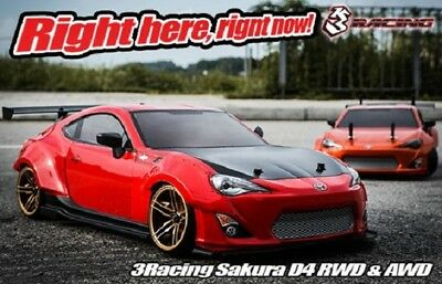 Sakura D4 KIT 3Racing - KIT-D4AWD