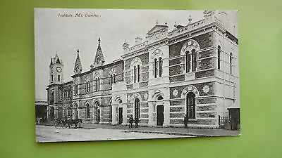 EARLY 1900s SOUTH AUSTRALIAN POSTCARD, MOUNT GAMIBER INSTITUTE