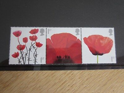 Gb Qe11 Stamps Lest We Forget Sg.2883/85 2008 Strip Of 3 Mnh
