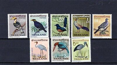 THAILAND 1967 Birds set of 8 comp. Mtd. MINT