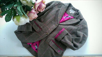 Joules child's tweed jacket 11 to 12 yrs gorgeous,