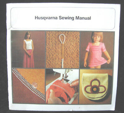 Operating & Sewing Manual For Husqvarna 2000 Sewing Machine 1976