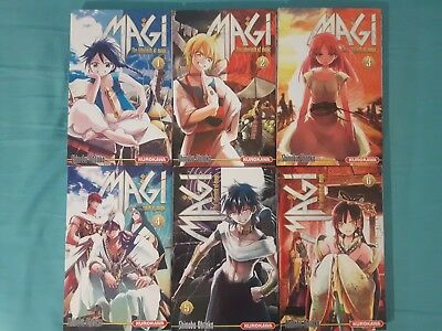 [Lots Mangas] MAGI: THE LABYRINTH OF MAGIC Tomes 1 à 6 OCCASION Livres FR