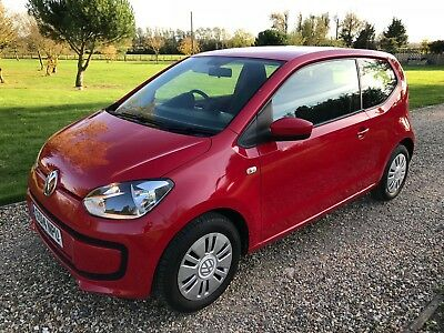 VW MOVE UP BLUEMOTION TECHNOLOGY 2014 one owner ONLY 14,000 miles