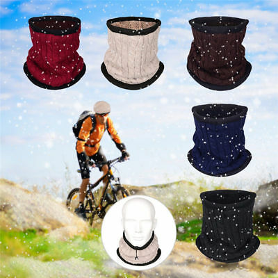 Winter Dualuse Hat Neckerchief Outdoor Riding Ear Protect Warm Knitted Hat Scarf